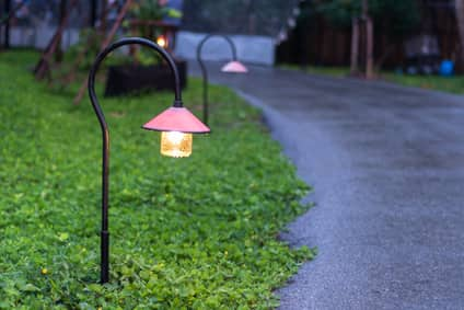 Andrew Day Electric outdoor pathway lights