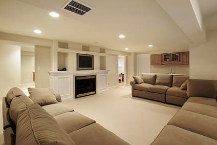 Andew Day Electric interior home wiring - basement or living room lighting